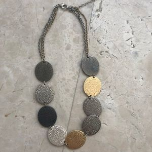 Jewelry - Silver & Gold Colored Necklace